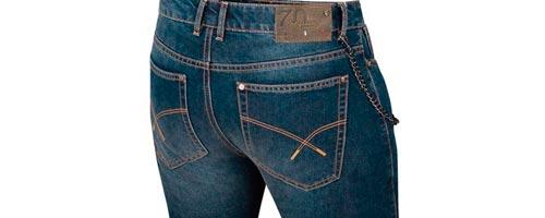 soldes promo pantalon jeans moto vintage