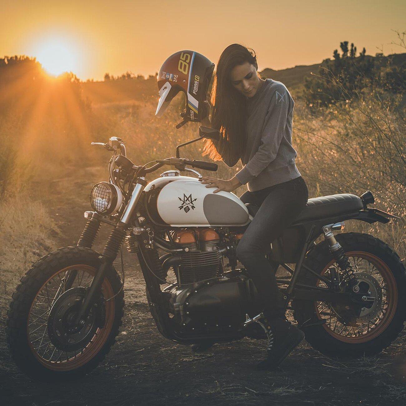 casque nexx xg200 integral moto cross vintage scrambler cafe racer