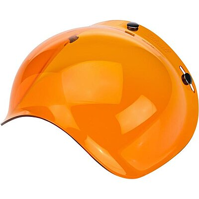 Visière Biltwell bubble shield anti-fog amber