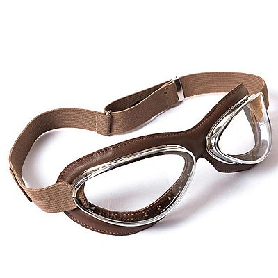 Lunettes Aviator Goggle 4602 Chrome Marron