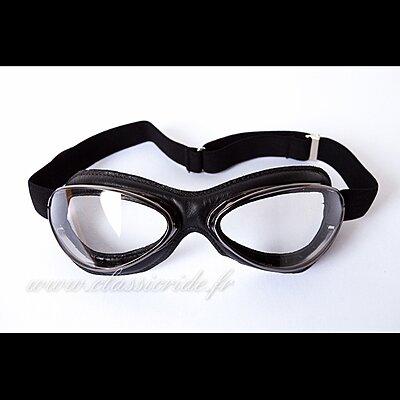 Lunettes Aviator Goggle 4602  Gun Noir