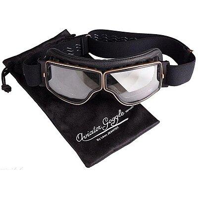 Aviator Goggle T2 doré noir