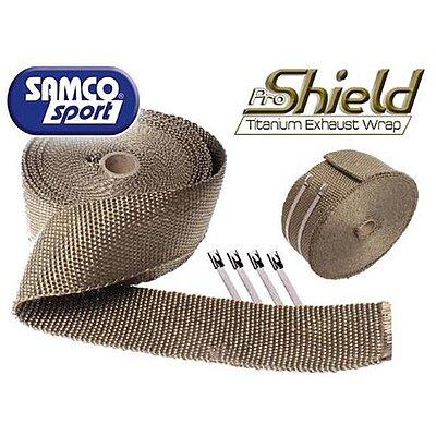 Bande thermique Samco Pro Shield titanium 7,5m 1200°C