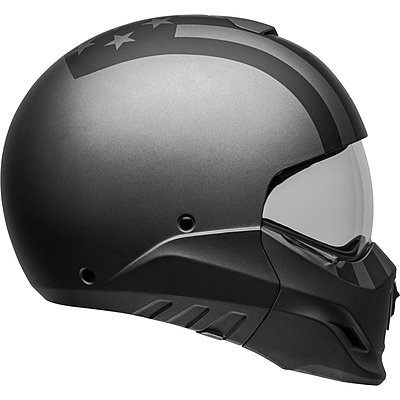 Casque transformable BELL Broozer Free Ride matte gray black