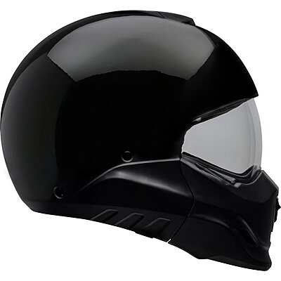 Casque transformable BELL Broozer Gloss Black