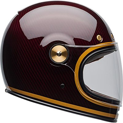Casque Bell Bullitt Carbon Transcend Candy Red Gold