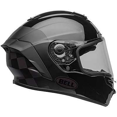 Casque BELL Star DLX Mips Lux Checkers matte gloss black root beer