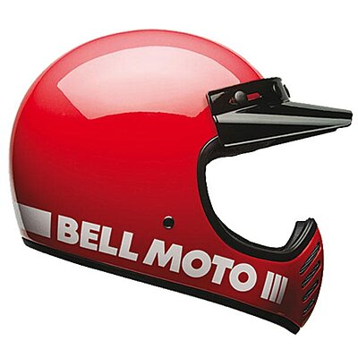 Casque Bell Moto 3 Classic Red