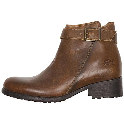 Bottines femme Helstons Lisa cuir marron