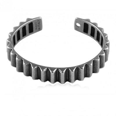 Bracelet Rouille Bangle Gear Vintage Silver