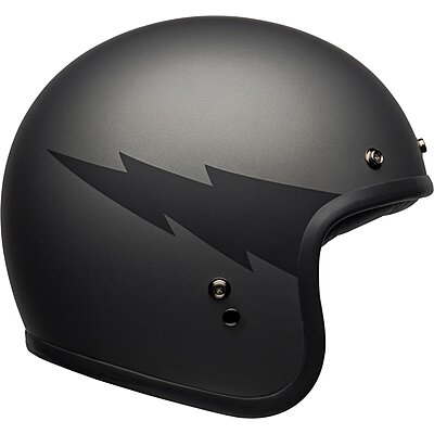 Casque Bell Custom 500 DLX Thunderclap matte gray black