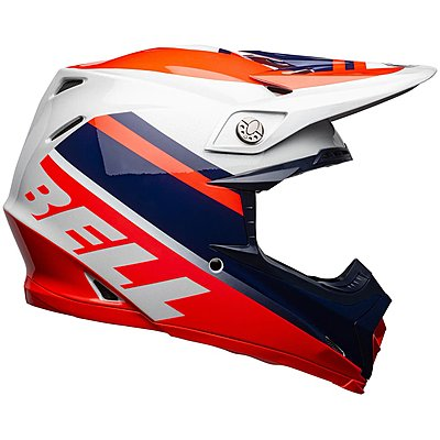 Casque Bell Moto 9 Mips Prophecy gloss infrared navy gray