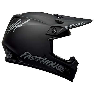 Casque Bell MX 9 Mips Fasthouse matte black gray