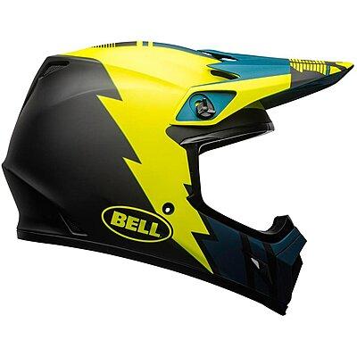 Casque Bell MX 9 Mips Strike matte blue yellow