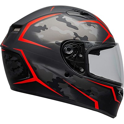 Casque BELL Qualifier Stealth camo black red