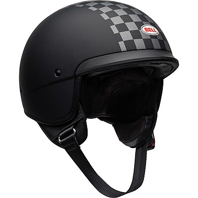 Casque Bell Scout Air Check matte black white