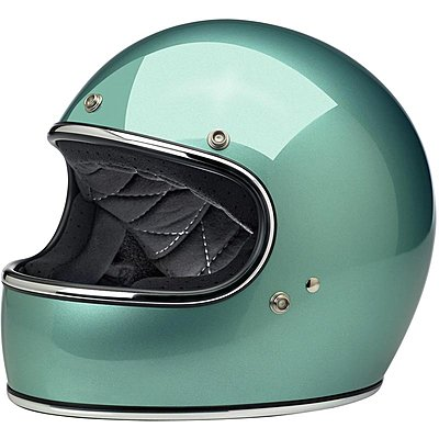 Casque Biltwell Gringo ECE gloss sea foam