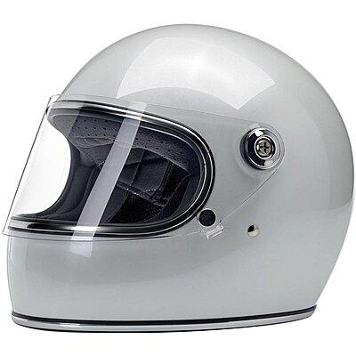 Casque Biltwell Gringo S ECE Metallic Pearl White