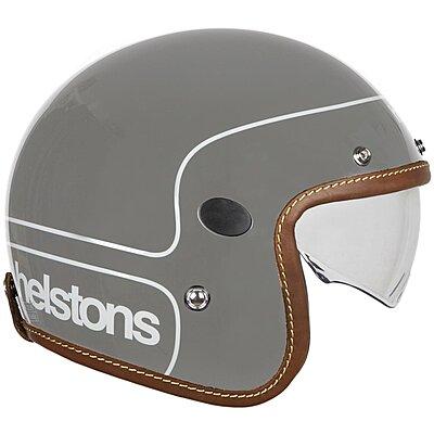 Casque Helstons Corporate Helmet Carbone gris