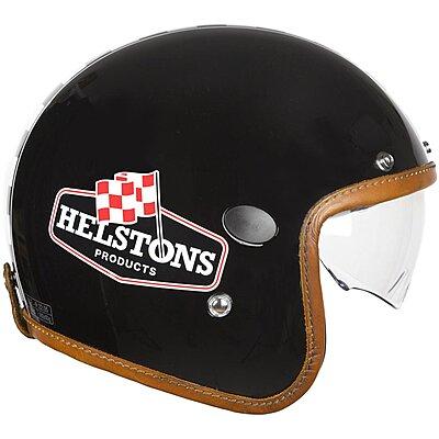Casque Helstons Flag Helmet Carbone noir