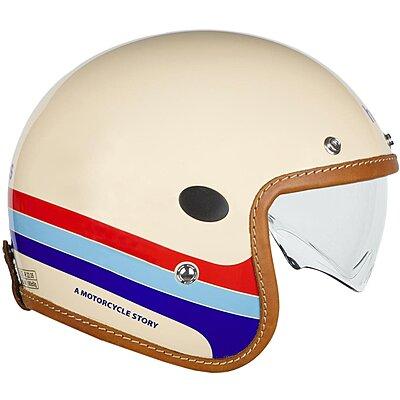 Casque Helstons Mora Helmet Carbone Beige