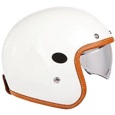 Casque Helstons Naked Helmet Carbone blanc