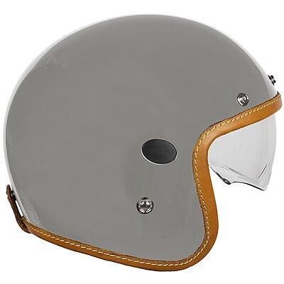 Casque Helstons Naked Helmet Carbone gris
