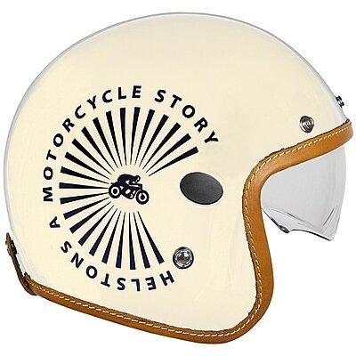 Casque Helstons Sun Helmet Carbone beige