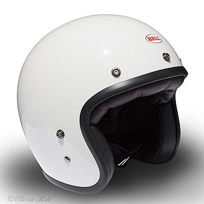 Casque Bell Custom 500 DLX Vintage White