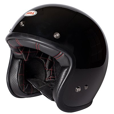 Casque Bell Custom 500 DLX Solid Black