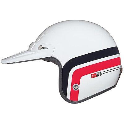 Casque Nexx XG10 Larry Span white red