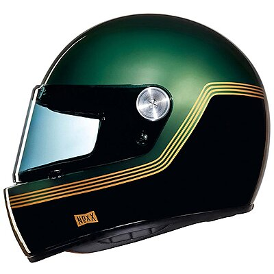 Casque Nexx XG100 Racer Motordrome Green