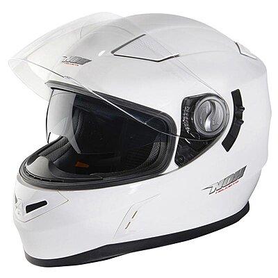 Casque Nox N917 blanc brillant