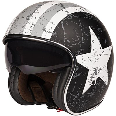 Casque Origine Sprint Rebel Star Grey Mat