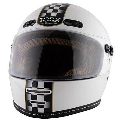 Casque Torx Barry Legend Racer White shiny