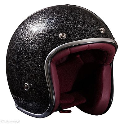 Casque Torx Wyatt Glitter Black