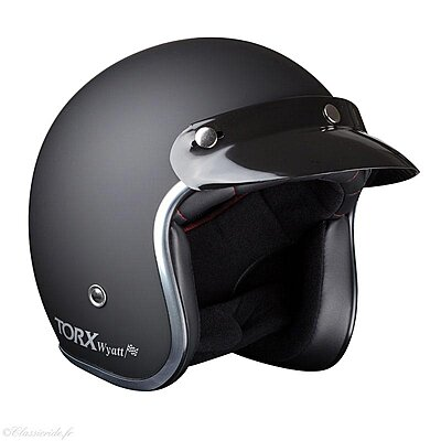 Casque Torx Wyatt Matt Black