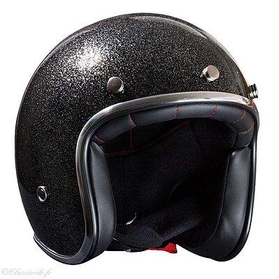 Casque Nox N242 Noir pailleté