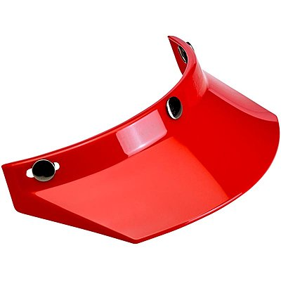 Visière Biltwell Moto Visor red