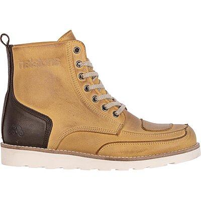 Chaussures Helstons Liberty cuir aniline ciré peach