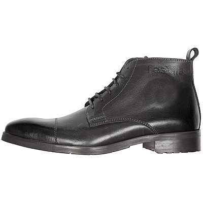 Chaussures Helstons Heritage cuir noir ciré
