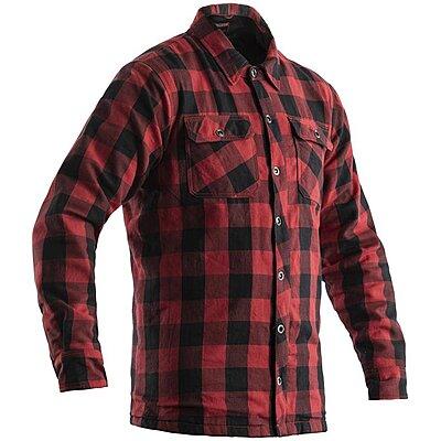 Chemise Moto RST Lumberjack Kevlar rouge