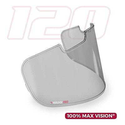 Écran Pinlock fumé clair 100% Max Vision pour visière Arai SAI