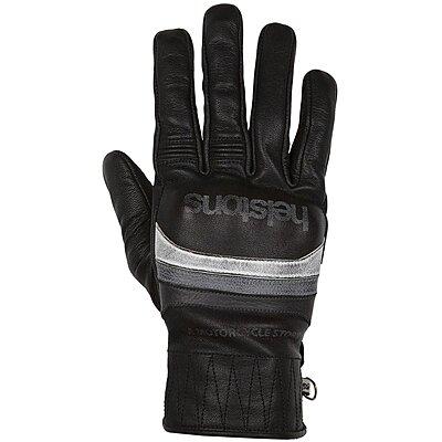 Gants Helstons Bora hiver cuir noir gris