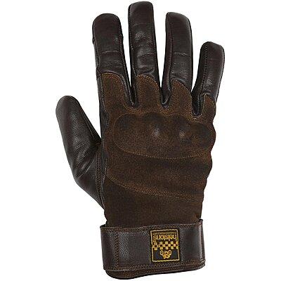 Gants Helstons Glory hiver cuir marron