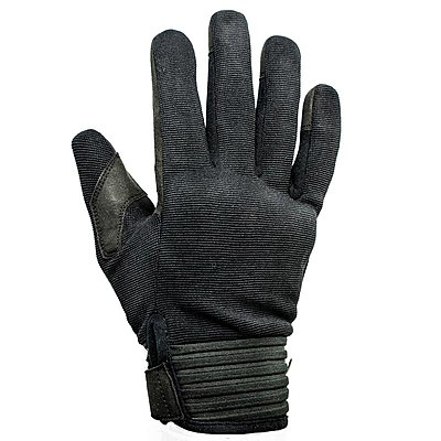 Gants Helstons Simple été textile noir