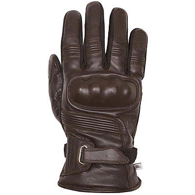 Gants Helstons Vertigo hiver cuir marron