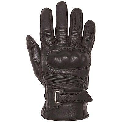 Gants Helstons Vertigo hiver cuir noir