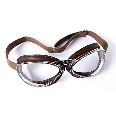 Lunettes Aviator Goggle 4600 Chrome Marron Brun