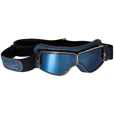 Lunettes Aviator Goggle T2 Bleu Chrome Miroir Bleu